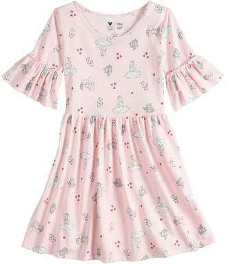 Disneyjumping Beans Disney's Alice in Wonderland Toddler Girl Ruffle Sleeve Dress by Disney/Jumping Beans