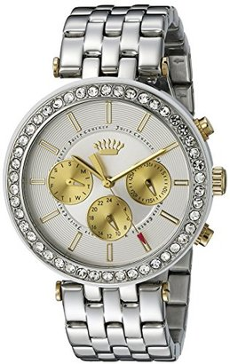 Juicy Couture Women's 1901311 Venice Analog Display Quartz Silver Watch $123.99 thestylecure.com