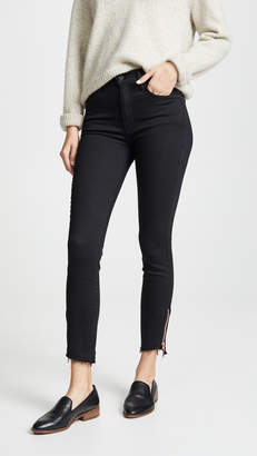 Mother The Stunner Double Zip Jeans