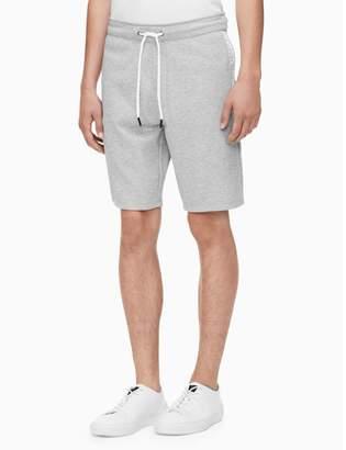 Calvin Klein regular fit drawstring logo knit shorts