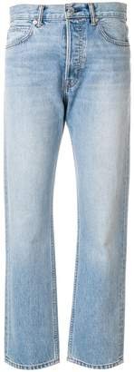 Helmut Lang washed out mum jeans