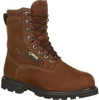 """Rocky FQ0006223 9"""" STRngrBrnNbc600 MEDIUM 14 Work Boots"""