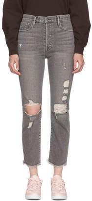 Frame Grey Le Original Release Hem Jeans