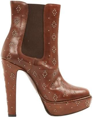 Paul & Joe Brown Leather Boots