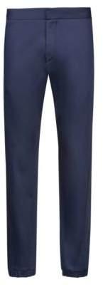 HUGO Boss Slim-fit pants elastic waistband & hems 28R Dark Blue