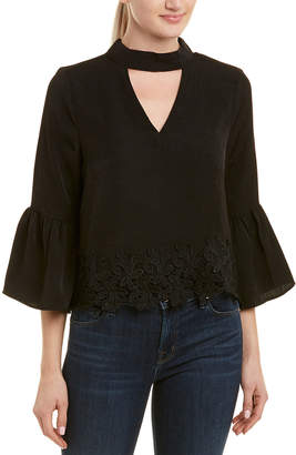 Moon River Bell-Sleeve Top