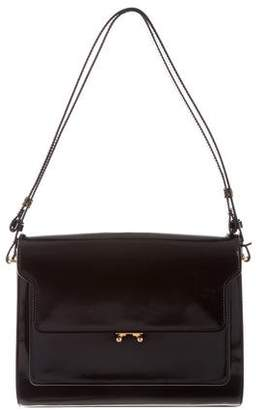 Marni Patent Leather Shoulder Bag