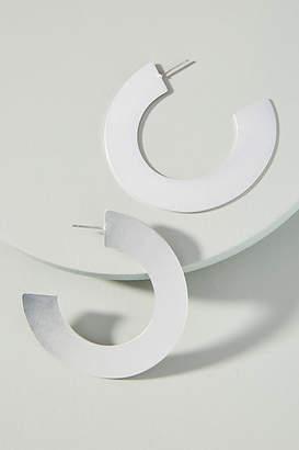 Anthropologie Silhouette Hoop Earrings