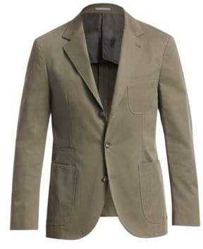 Brunello Cucinelli Marled Overcoat