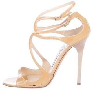 Jimmy Choo Leather Open-Toe Sandals
