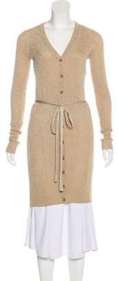 Dolce & Gabbana Metallic Knit Cardigan