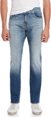 7 For All Mankind Medium Wash The Straight Jeans
