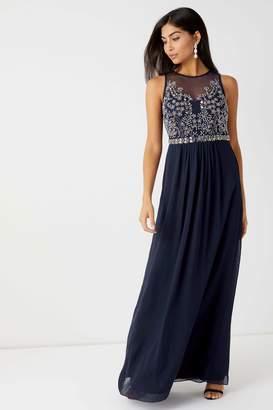 Next Womens Lipsy Angelina Sequin Artwork Maxi Dress