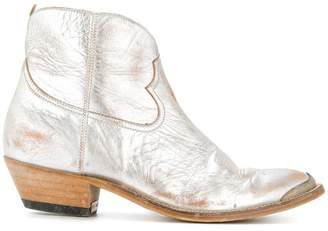 Golden Goose ankle length cowboy boots