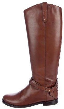 Tory Burch Knee-High Derby Riding Boots