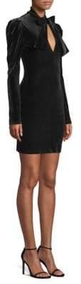 Black Halo Austyn Velvet Dress