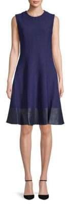Carolina Herrera Sleeveless Fit-&-Flare Dress