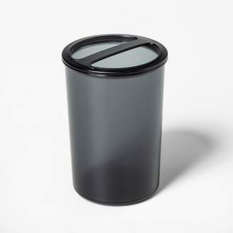 Room Essentials Plastic Toothbrush Holder Black