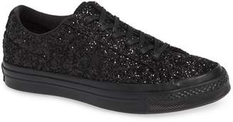 Converse Chuck Taylor(R) All Star(R) One Star Glitter Low Top Sneaker