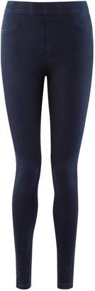 Dorothy Perkins Womens Blue Black 'Eden' Super Soft Jeggings