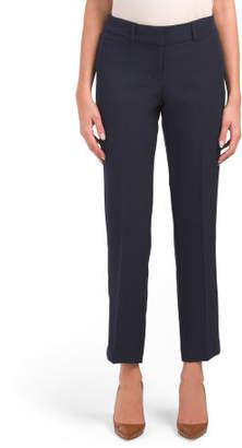 Petite Wrinkle Resistant Straight Leg Pants