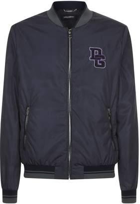 Dolce & Gabbana Logo Bomber Jacket
