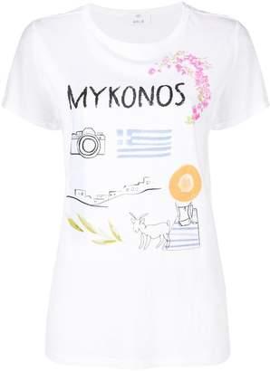 Allude Mykonos Tシャツ