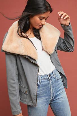 Marrakech Faux Fur Aviator Jacket