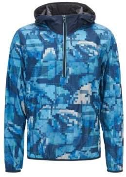 BOSS Hugo Feather Digi-Camo Print Jacket Jepico L Dark Blue