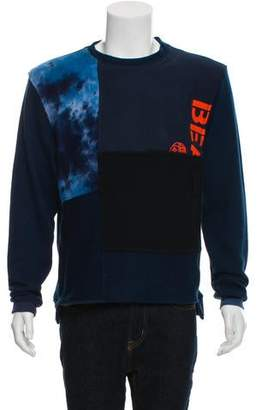 Longjourney Nash Patchwork Sweater w/ Tags