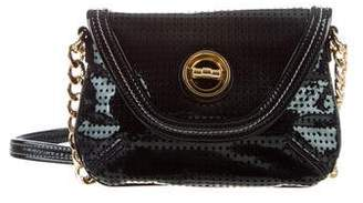 Milly Perforated Crossbody Bag