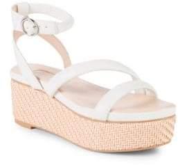 AVEC LES FILLES Ava Leather Platform Sandals