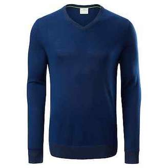 Kathmandu KMDMerino Soft Lightweight Warm Breathable Durable V-neck Men Knit top