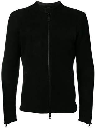 Giorgio Brato fitted shearling jacket