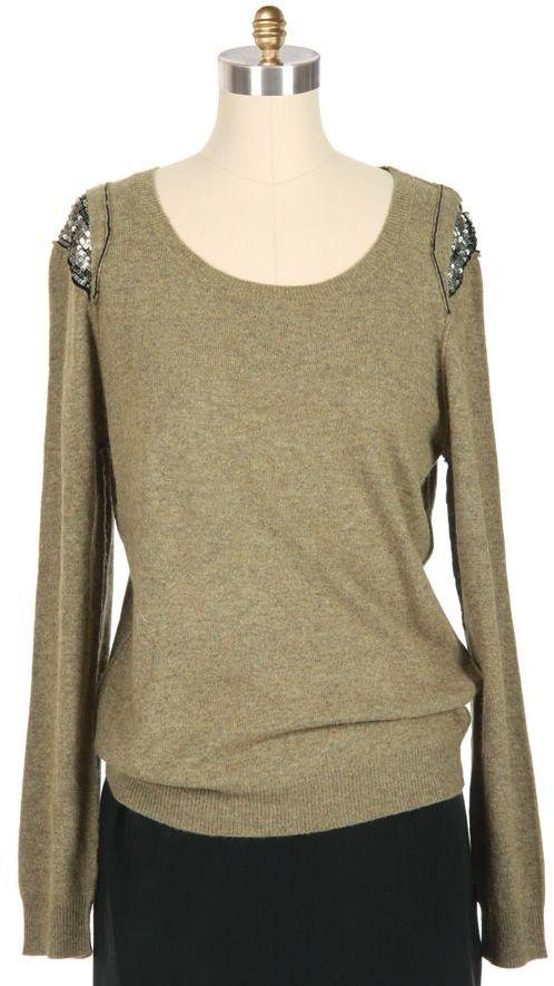 IRO Randy Sequin Inset Sweater