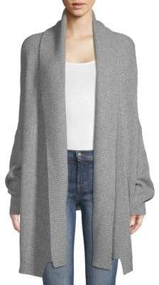 Zadig & Voltaire Mystic Open-Front Cashmere Cardigan