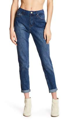 Seven7 High Rise Tapered Skinny Mom Jeans