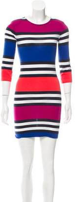 French Connection Crew Neck Mini Dress