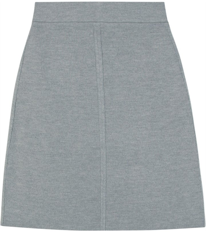 Sonia Rykiel Sonia By A-line Knit Skirt