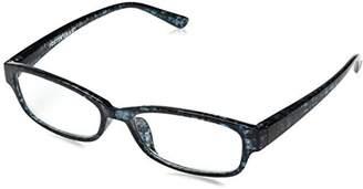 Foster Grant Women's Hazel 1017889-150.COM Rectangular Reading Glasses