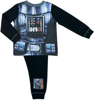 Marvel Star Wars Boys Darth Vader Pyjamas - Age 2-8 Years
