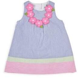Florence Eiseman Baby Girl's Multicolor Stripe Seersucker Dress