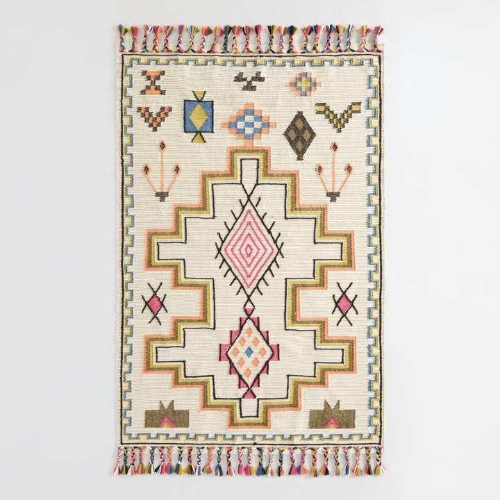spring decor, interior design, home decor, target, world market, opalhouse, how to freshen up spaces for spring, easy pieces to update your space for spring, kilim