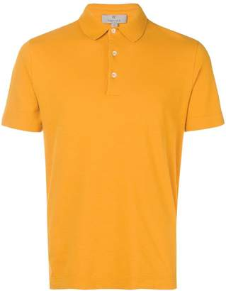 Canali slim-fit polo shirt