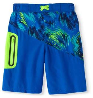 Trunks Wonder Nation Boys Fashion Swim Short