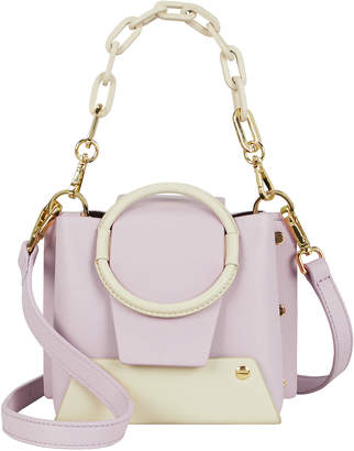 Yuzefi Delila Lilac Two-Tone Chain Bag