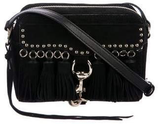 Rebecca Minkoff Tassel-Accented Suede Crossbody Bag