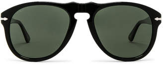 Persol PO0649 in Black & Green Polar | FWRD