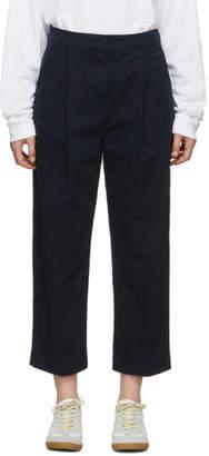 YMC Navy Twill Market Trousers