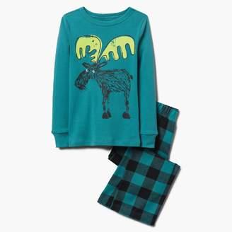 Gymboree Moose 2-Piece Pajamas